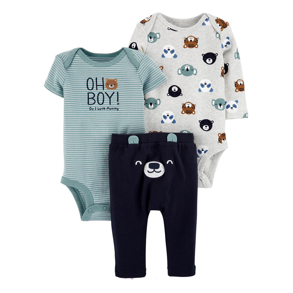 3-Piece Bodysuit Pant Set BPS09