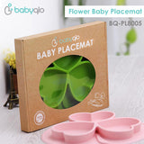 Babyqlo Silicone Baby Placemat Clover PL8005 - Alas Makan Bayi