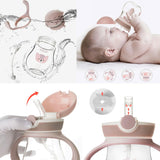 BabyQlo Sippy Cup with Straw - Hijau