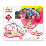 Bright Starts Fancy Flower Activity Gym - Playmat