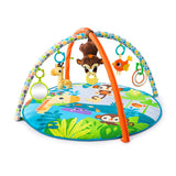 Bright Starts Monkey Business Activity Gym - Playmat