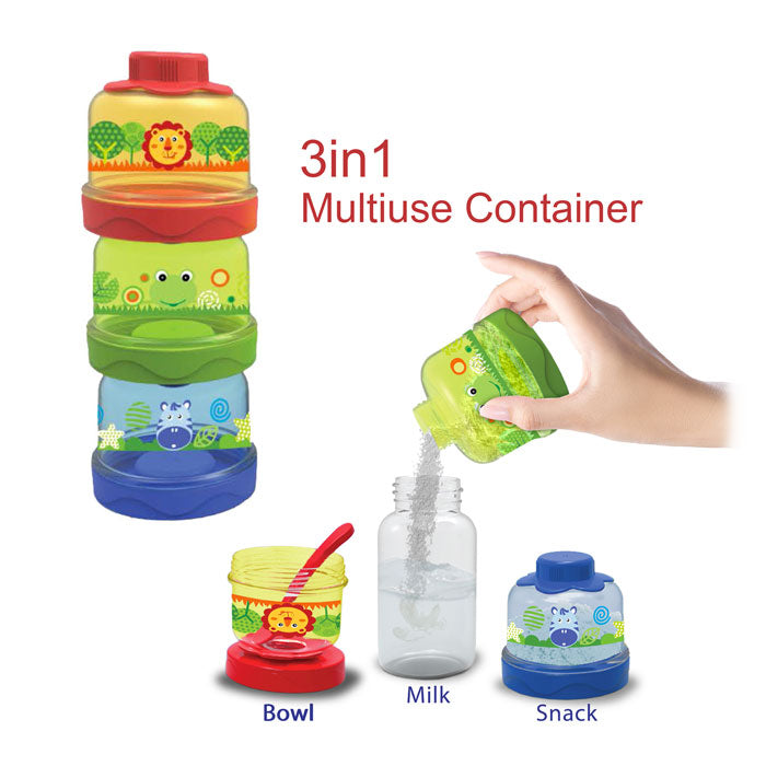 Baby Safe 3in1 Multiuse Container BS33A
