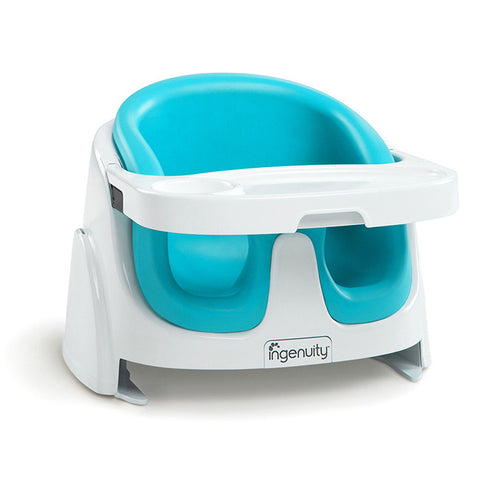 Bright Starts Ingenuity Baby Base 2-in-1™ Booster Seat - Aqua