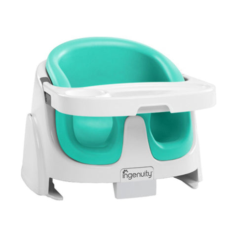 Bright Starts Ingenuity Baby Base 2-in-1™ Booster Seat - Jade