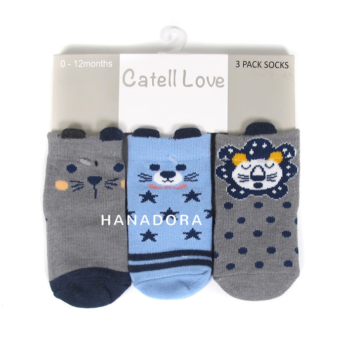 Catell Love 3 Packs Socks SC306