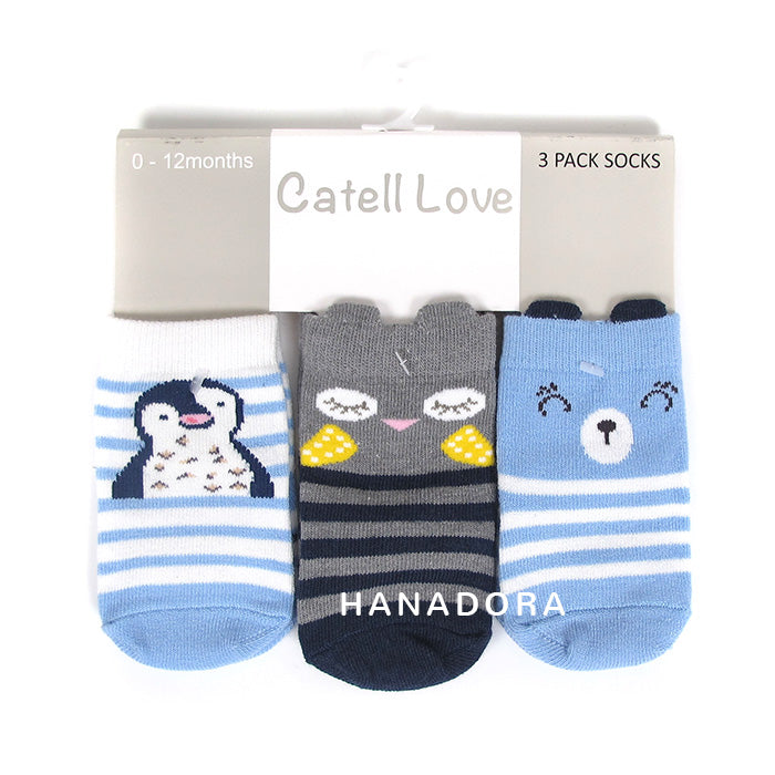 Catell Love 3 Packs Socks SC307
