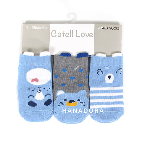 Catell Love 3 Packs Socks SC308