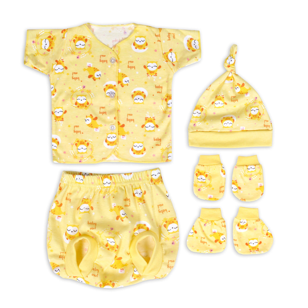 Miabelle Newborn Set 4in1 FP05 - Kuning