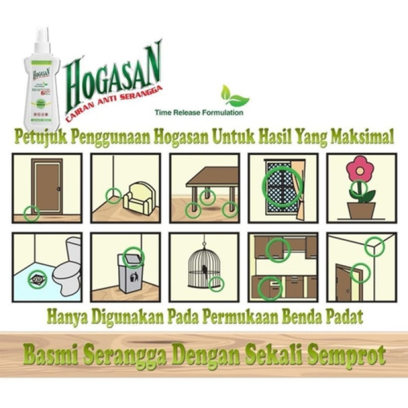Hogasan Cairan Anti Serangga - 200ml