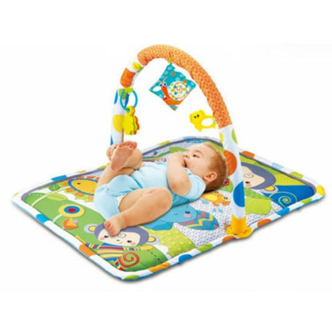 NB Baby Playmat Monkey & Friends 023-44D