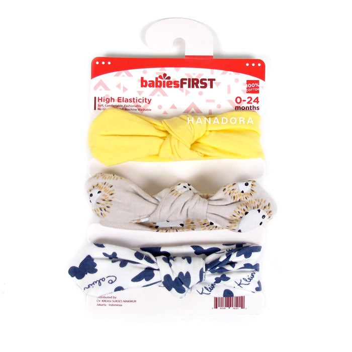 Babies First Korean Style Headband - Set J