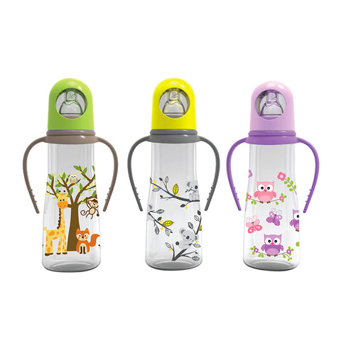 Baby Safe Bottle with Handle JP005 - 250ml