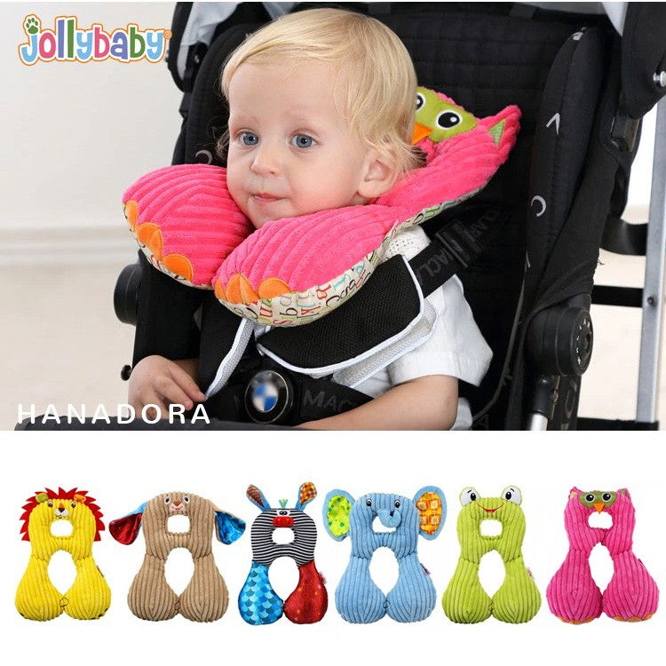 JollyBaby Headrest Pillow - Bantal Leher - Owl