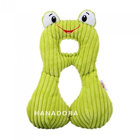 JollyBaby Headrest Pillow - Bantal Leher - Frog
