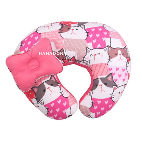 Kiddy Nursing & Hand Pillow KD2630 - Pink