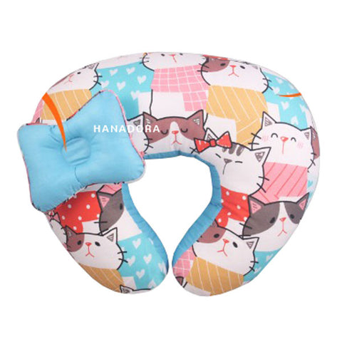 Kiddy Nursing & Hand Pillow KD2630 - Biru