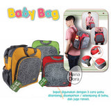 Kiddy Diaper Bag 3in1 KD5006 - Biru