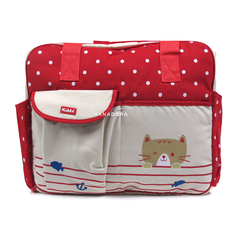 Kiddy Diaper Bag KD5032 - Tas Bayi - Merah