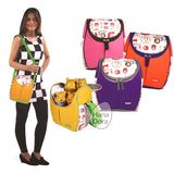 Kiddy Lunch/Cooler Bag KD5094 - Orange - Tas Bayi/Tas Asi
