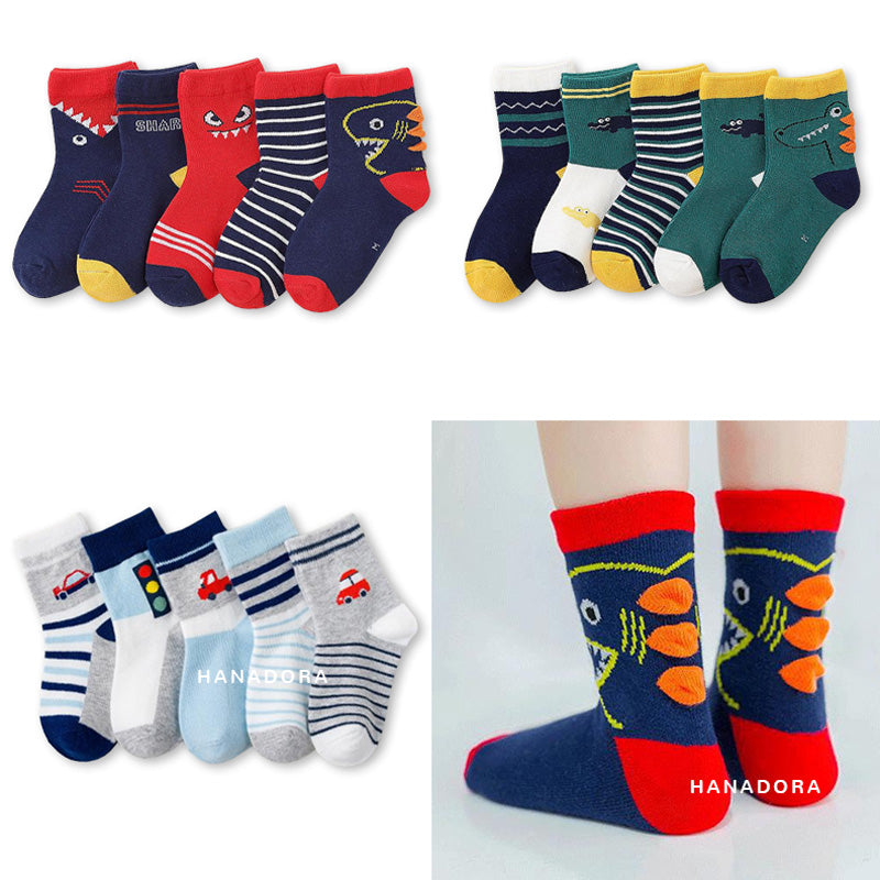Catell Love 5 Pack Socks - SC501