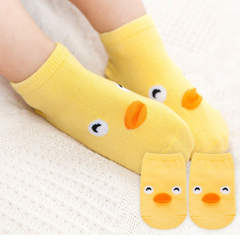 Kaos Kaki Pendek Animal - Chick