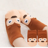 Kaos Kaki Pendek Animal - Monkey