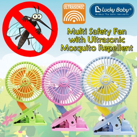 Lucky Baby Clip-on Mini Fan Anti Mosquito