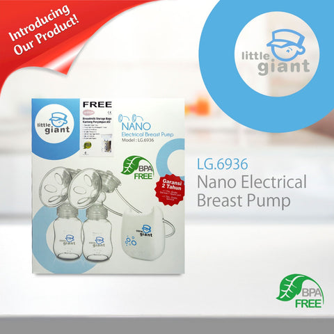 Little Giant Nano Double Electric Breastpump LG-6936