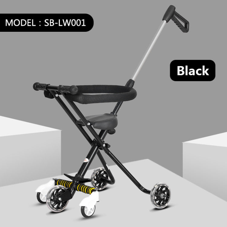 Exotic Stroller Tricycle SB-LW001 - Hitam