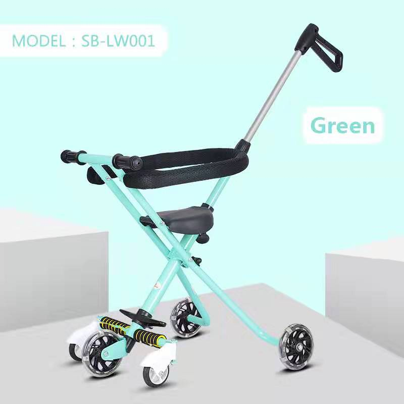 Exotic Stroller Tricycle SB-LW001 - Hijau