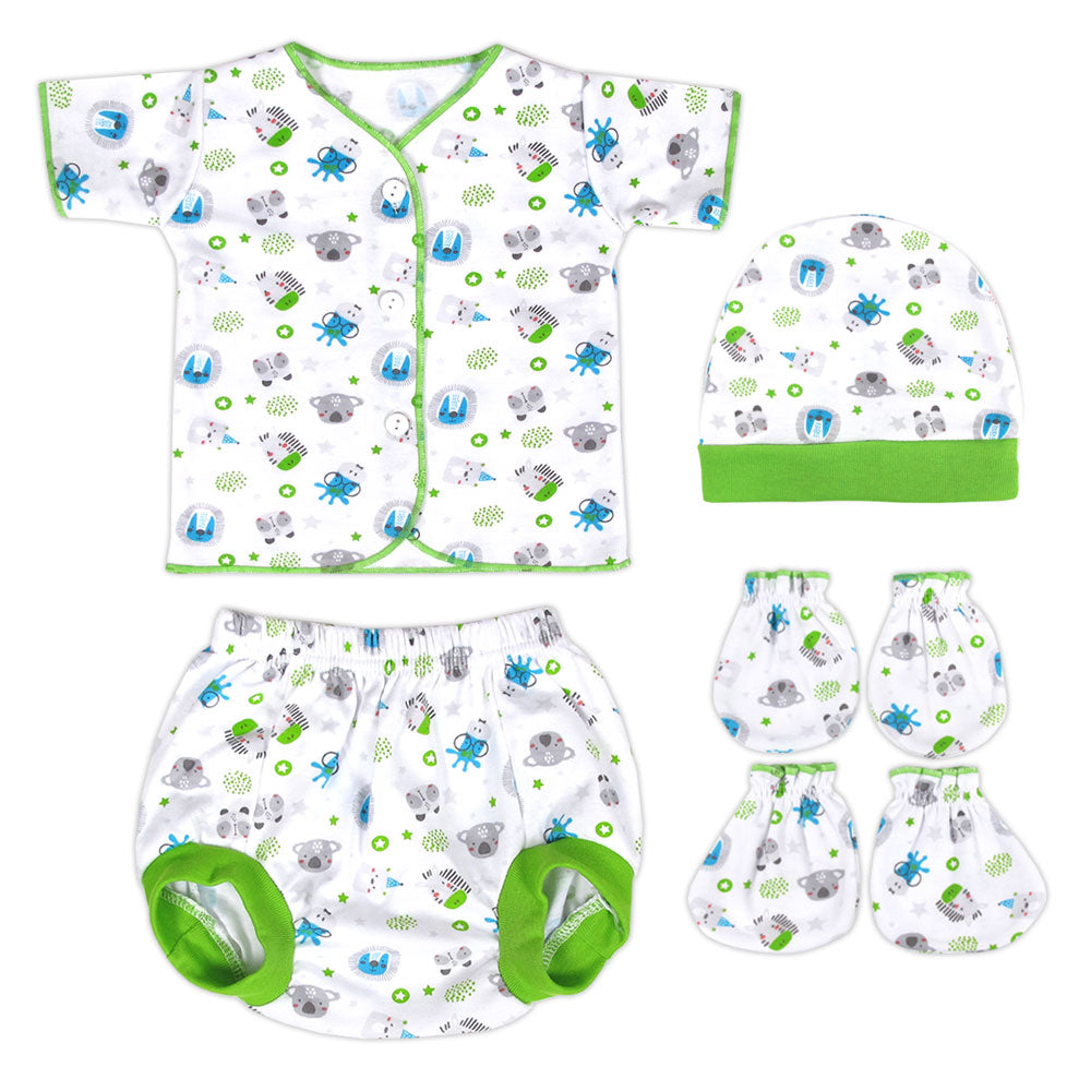 Miabelle Newborn Set 4in1 FP03 - Hijau