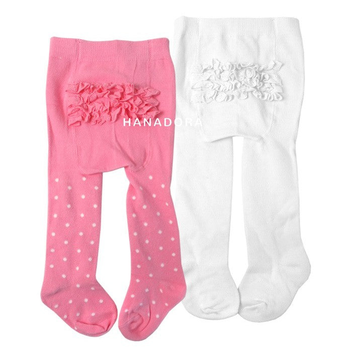 NB Baby Legging Ruffle Set isi 2pcs