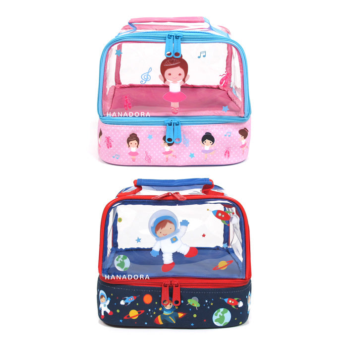 PW Double Decker Lunch Bag (Tas Saja) - Astronout