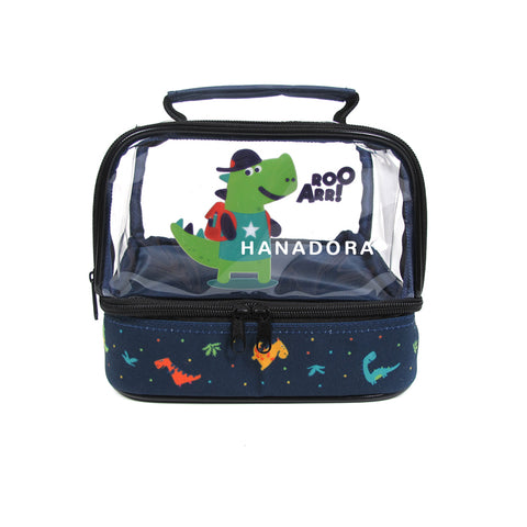 PW Mini Double Decker Lunch Bag (Tas Saja) - Dino