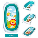 Right Starts Foldable Tub - Turq