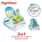 Right Starts 3in1 Newborn-to-Toddler Music Portable Rocker