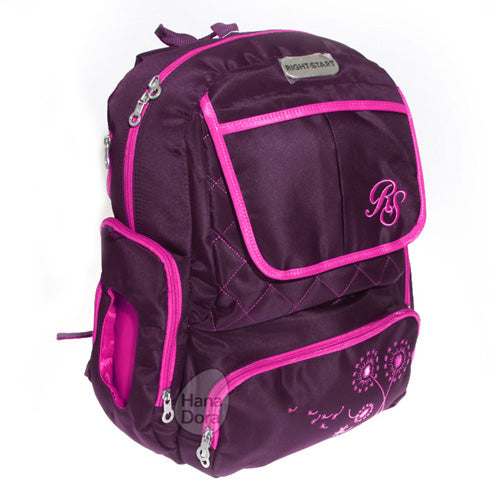 Right Starts Diaper Bag Backpack 554020 - Plum