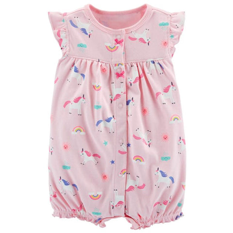 Catell Love Romper Pink Unicorn