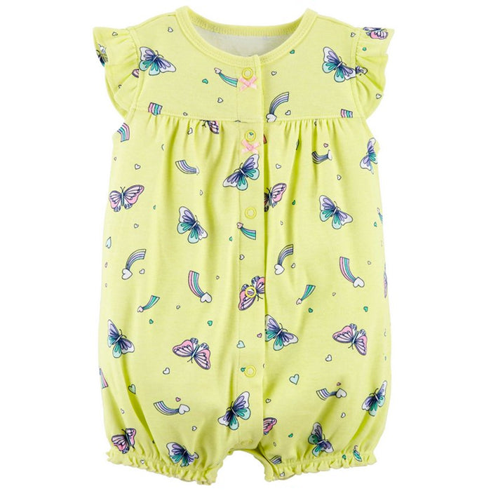 Catell Love Romper Yellow Butterfly