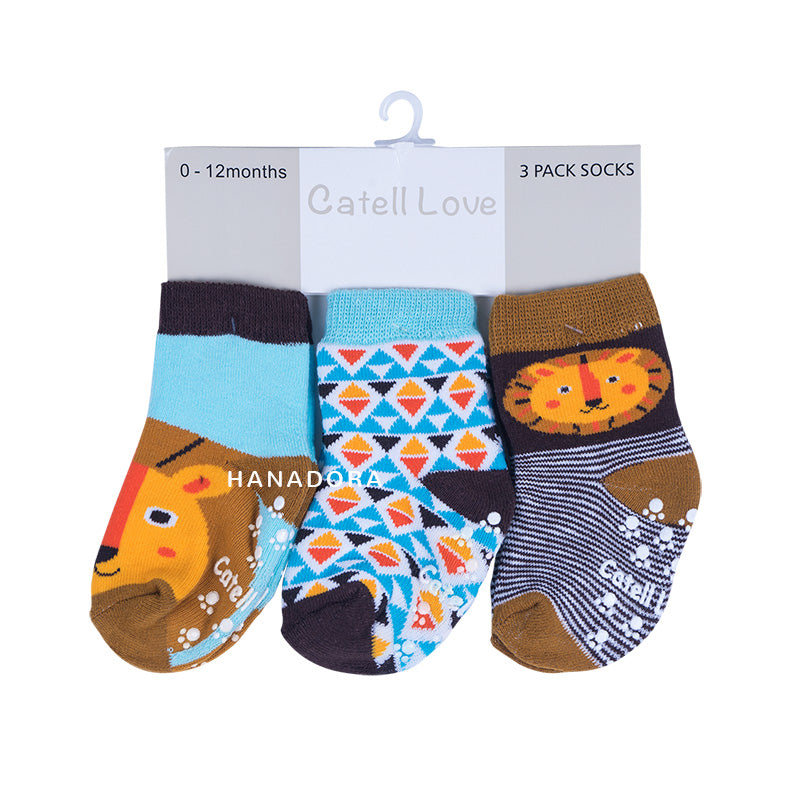 Catell Love 3 Packs Socks SC315