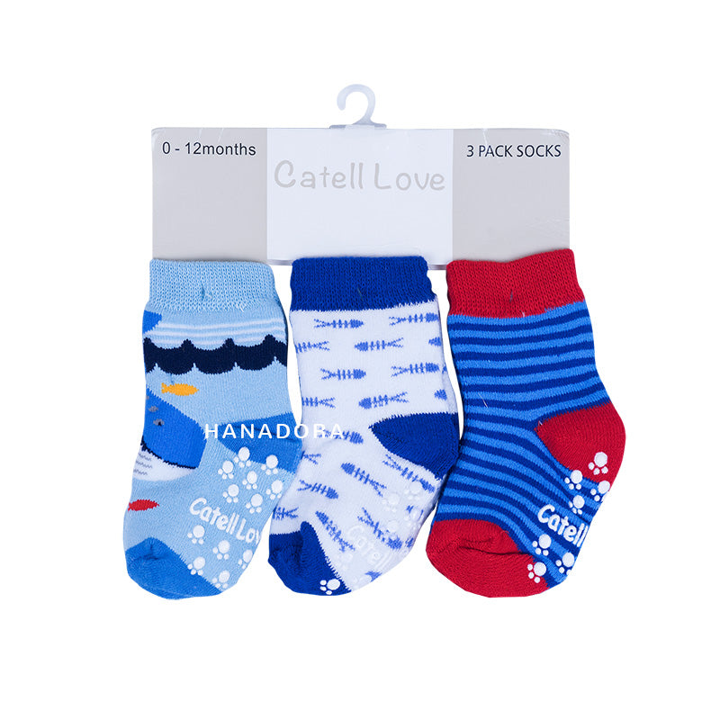 Catell Love 3 Packs Socks SC316