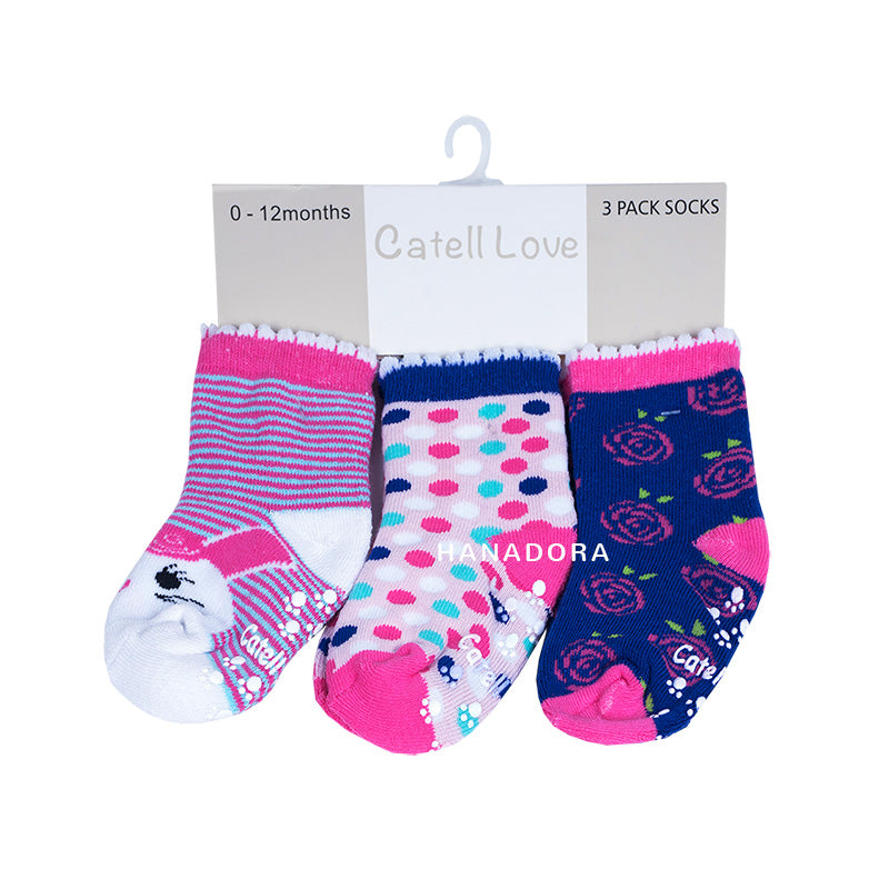 Catell Love 3 Packs Socks SC318