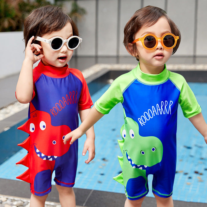 Swimming Suit SW05 - Roar Hijau