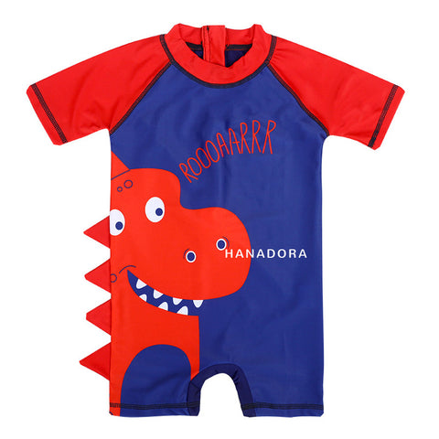 Swimming Suit SW05 - Roar Merah