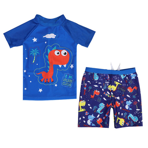 Swimming Suit SW06 - Dino Biru