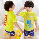 Swimming Suit SW06 - Dino Kuning
