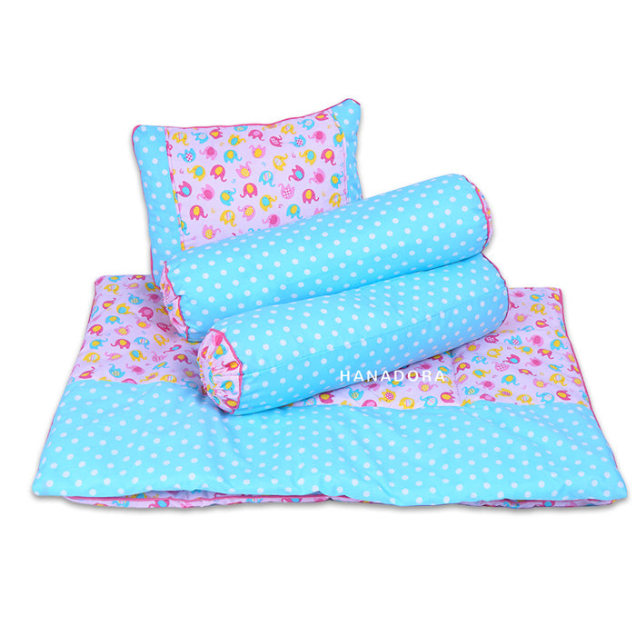 Little Q 3in1 Set Bantal Guling Selimut LQ03