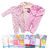 Sleepsuit Buka Kaki 3in1 - Girl