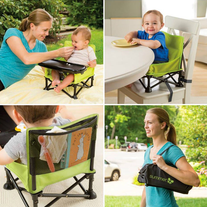 Summer Infant Pop 'N Sit Booster Seat - Kursi Bayi