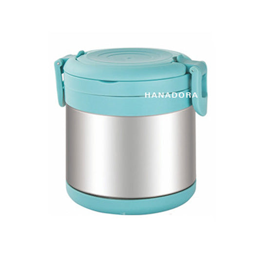 Tedemei Stainless Steel Food Jar 6571 850ml - Biru
